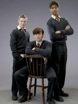 Seamus, Neville & Dean